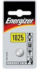 Energizer 3v Lithium Coin CR1025 Card 1