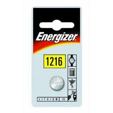 Energizer 3v Lithium Coin CR1216 Card 1