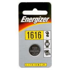 Energizer 3v Lithium Coin CR1616 Card 1