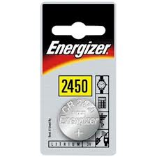 Energizer 3v Lithium Coin CR2450 Card 1