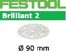FESTOOL abrasive 100 pack, P120 grit - Dia. 90 mm