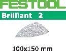 FESTOOL abrasive 50 pack, P40 grit - 100 x 150 mm