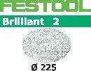 FESTOOL abrasive 25 pack, P60 grit - Dia. 225 mm