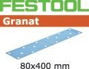 FESTOOL abrasive 50 pack, P120 grit - 80 x 400 mm