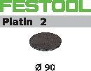 FESTOOL abrasive 15 pack, S1000 grit - Dia. 90 mm