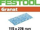FESTOOL abrasive 50 pack, P40 grit - 115 x 228 mm
